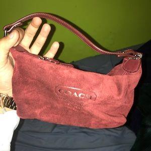 Coach Woman's Small handbag Fine Leather